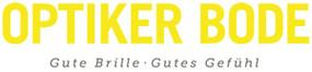 Rechteckiges Optiker Bode Logo
