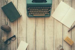 Content Marketer Arbeitsplatz