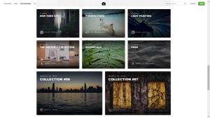 Kostenlose Quellen wie Unsplash.com enthalten viele Landschafts- und Gegenstandsfotos, aber wenige Personenaufnahmen.