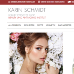 Screenshot von beauty-Concept-Shop